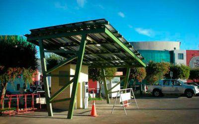Primera electrolinera solar de Latinoamérica