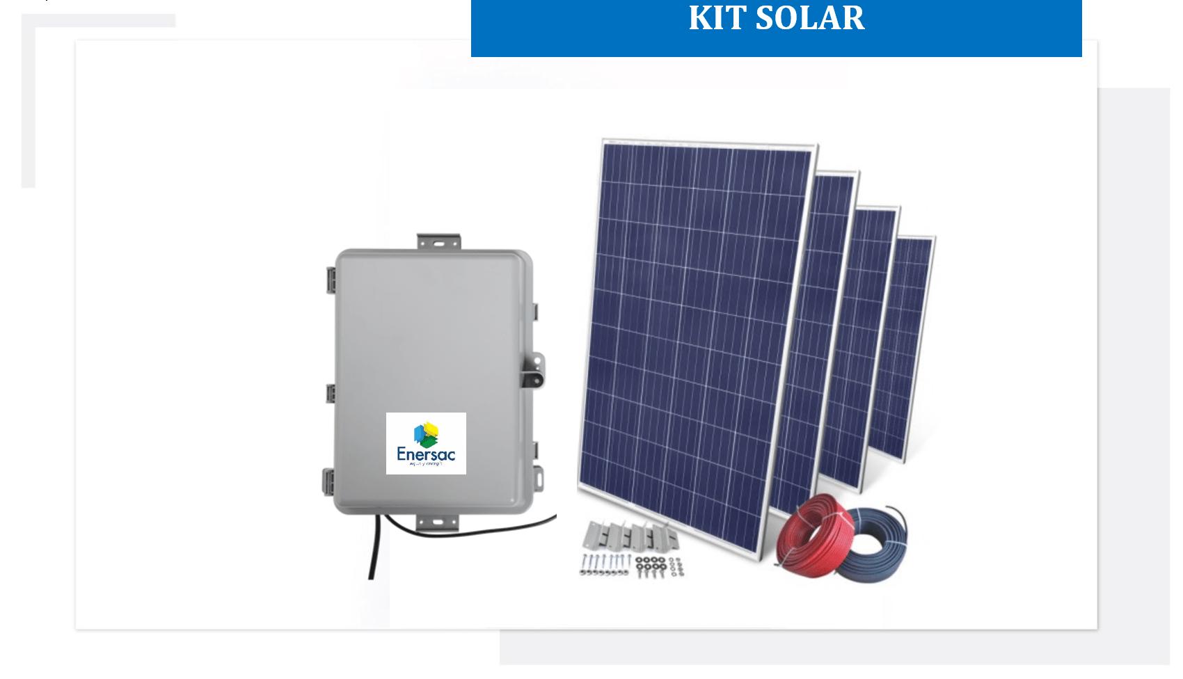 Kit solar en colombia